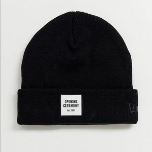 Opening Ceremony Black Box Logo Beanie